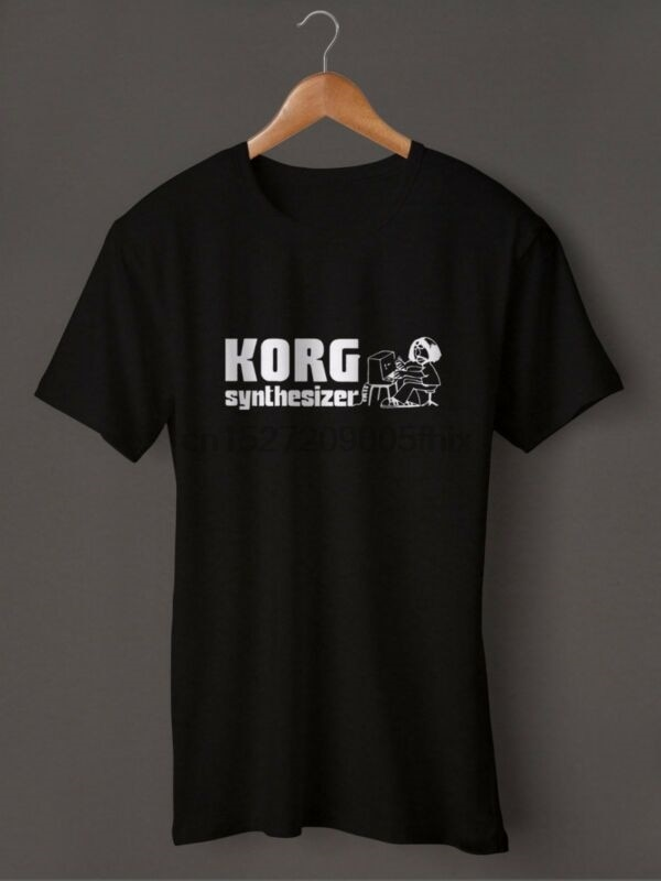 KORG Synthesizer Custom T-Shirt Size S M L XL 2XL 3XL