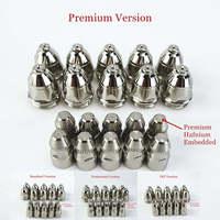 20pcs Premium P80 Plasma Cutting Torch Consumable Cutting 60A 80A 100A P80 CNC Plasma Torch Tip Electrode Nozzle