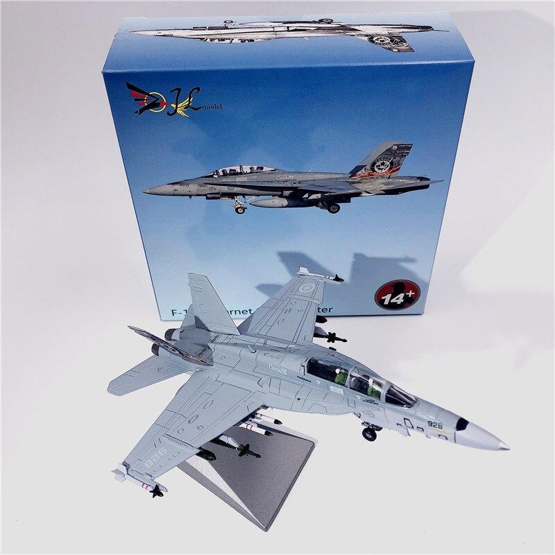 Wltk Canadá Fuerza Aérea McDonnell Douglas F/A-18F Super Hornet Strike Fighter 1/100 modelo