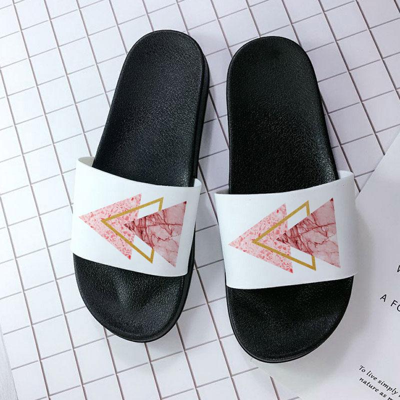 Sandals Women 2021 Home Slippers Open Toe Flip Flops Summer Beach Soft Sole Slide Sandals Bathroom A