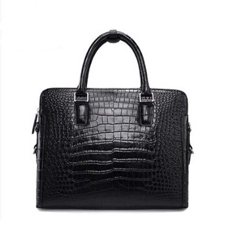 weitasi new fashion Crocodile skin men handbag for men  Men's leisure business bag man handbag men  Crocodile bag