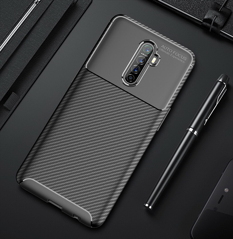 OPPO-Funda de Teléfono de lujo para teléfono inteligente, cubierta de silicona suave...