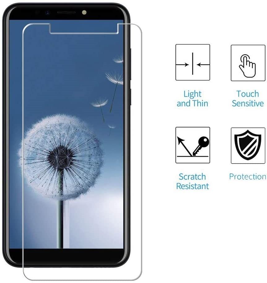 Взрывобезопасное закаленное стекло для смартфона BQ Mobiie, быстрая доставка, 9H, защитная пленка, чехол для смартфона BQ Mobiie, BQ-5519L, L, чехол