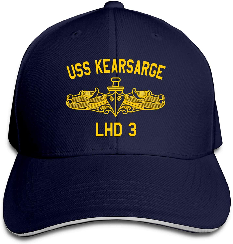 USS Kearsarge Lhd-3 Baseball Caps Sandwich Caps