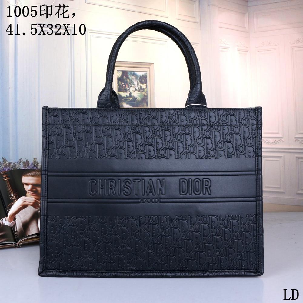 2021 Luxury Leather Handbags Women Bags Designer Brand Women's Shoulder Bags Large Capacity Ladies H