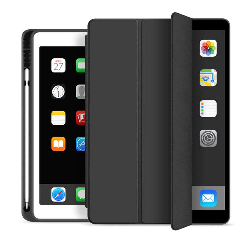 Funda para iPad 7. ° 10,2 2020, Funda delgada magnética con soporte de tapa, Funda suave de cuero para iPad 7. ª generación, Funda inteligente # LR3