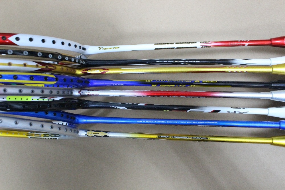 yonzhenx 2017 new 3u badminton rackets super light g3 high tension full carbon professional badminton racquet with original bag 2pcs Professional Badminton Rackets  28 pouds carbon . Training reserve badminton racquet