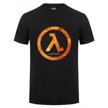 Hipster Funny Half Life 2   men Short sleeveT Shirt for  3D T Shirt men summer Tops Tees