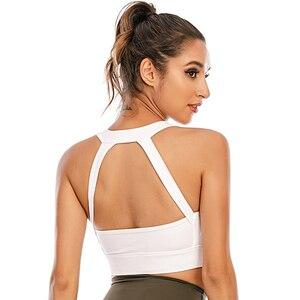 MyZyQg Sports Yoga Bras Women Gather Shockproof Underwear Beauty Back Vest Running Bra Gym Fitness Workout Tops Sexy Lingerie