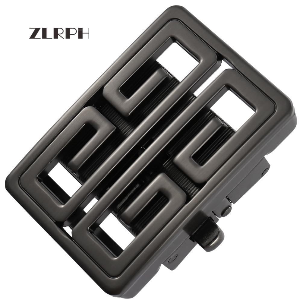 ZLRPH Men belt buckle Automatic Buckle Men's Business Belt Buckles Inner width 3.6cm Suitable for around 3.4-3.6cm belts