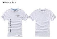 Camisetas de algodón de manga corta de buena calidad camiseta de verano jersey disfraz camiseta con logo de Aston Martin
