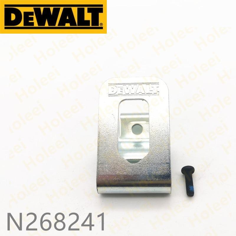 Gancho de cinturón para DeWALT N086039 DCD795 DCD791 DCD790 DCD785L DCD785 DCD780L2 DCD780 DCD996 DCD995 DCD991 DCD990 DCD796 N268241