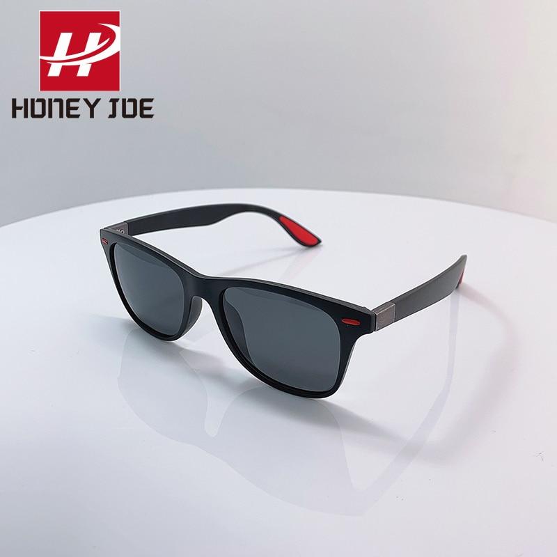 Classic Retro Polarized Sunglasses for Men Women Driving Eyewear Sun Glasses Shades Square Frame Vin