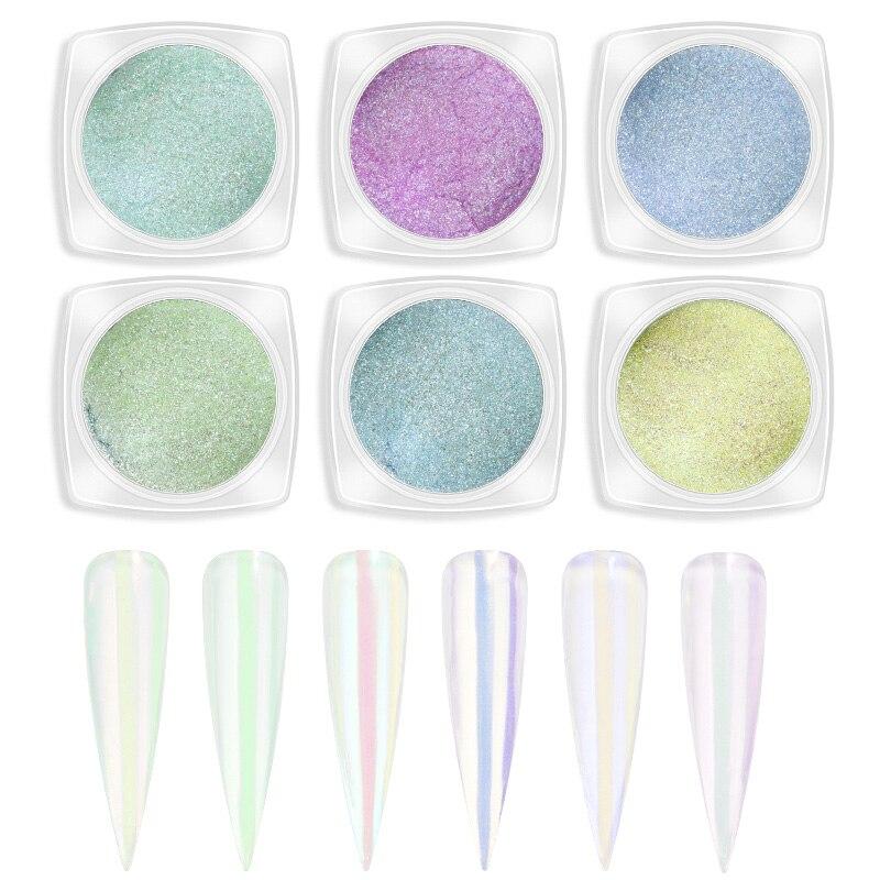 Multicolor Beautiful Dipping Nail Powders Base Coat Gradient Nail Natural Color Nail Art Decorations