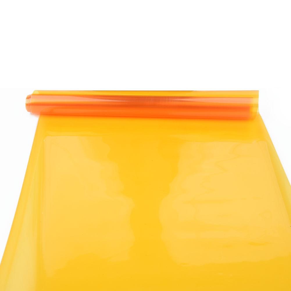 Lamp Car light film Accessories Amber Orange Tint Headlight Tail Fog Sticker