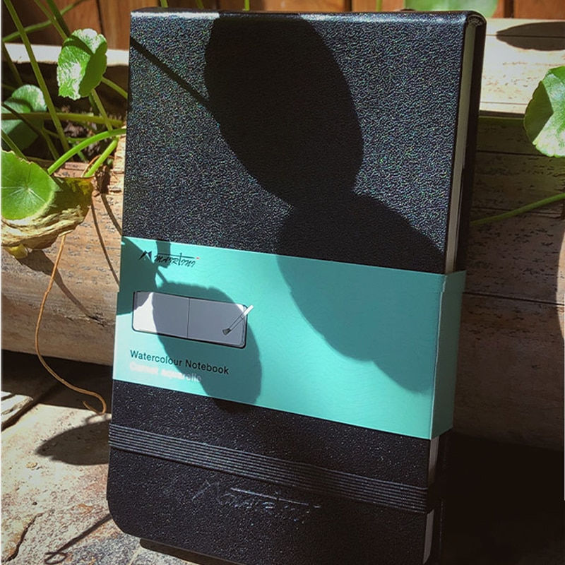 MAIRTINI Акварельная книга путешественник книга 300 г смешанный хлопок мелкозернистая Акварельная бумага А6 карманные товары для искусства