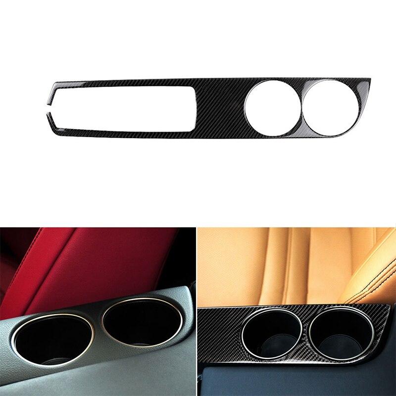 Para LEXUS IS250 IS350 2014-2018 adhesivo de fibra de carbono para coche para portavasos interior panel Trim adhesivo de estilo de coche pegatinas