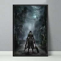 classic game hot art painting silk canvas poster wall home decor tableau plakat