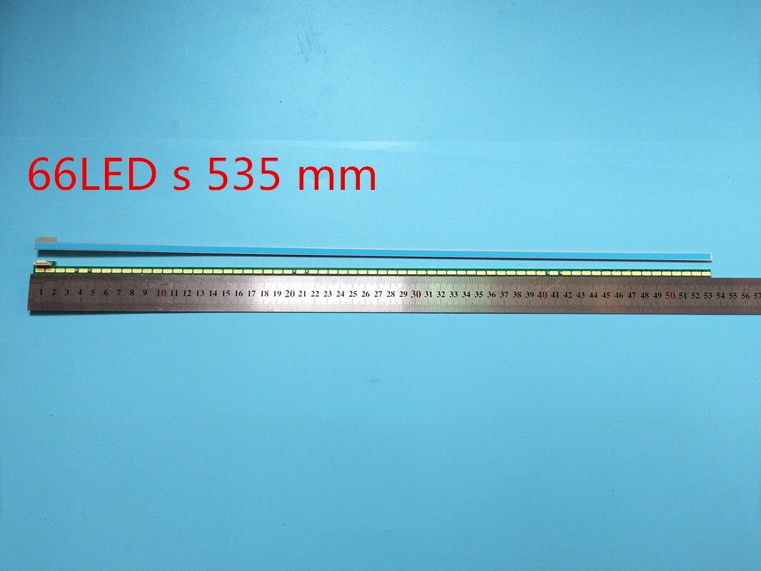 Nova10pçs/set 66LED 535 milímetrs Tira contzida Luz de Fundo para LG 49UF695V 6922L-0128A LC490EQE 6916l1722B 6916l172