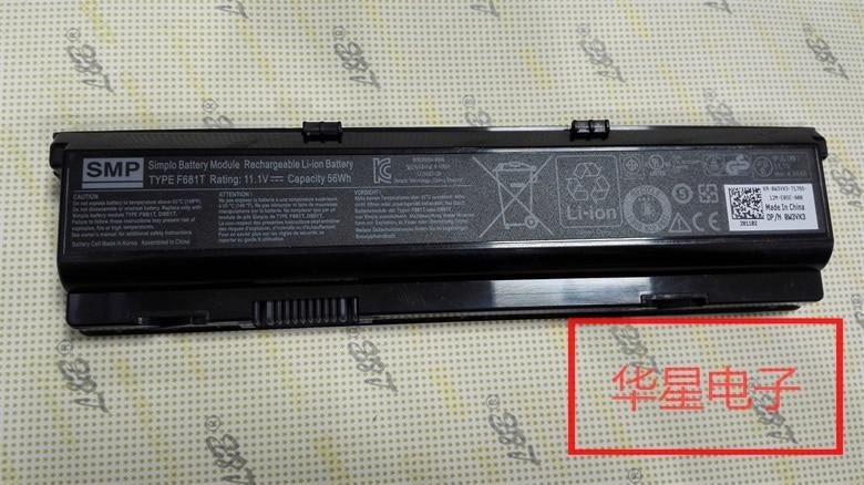Nowa oryginalna bateria do dell alienware M15X R1 R2 serii F681T T780R 0T780R W3VX3 11.1V 58WH