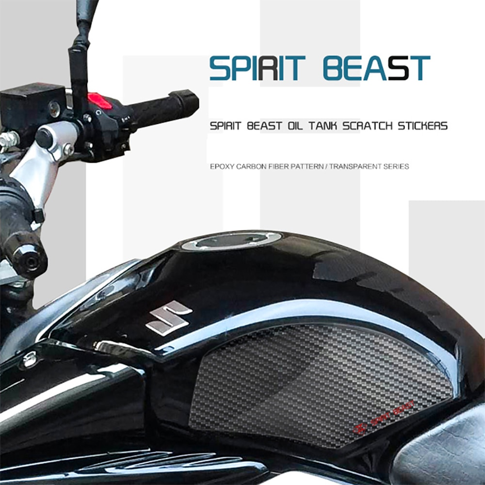 Adhesivo de tanque de combustible para motocicleta Spirit Beast, pegatina impermeable para SUZUKI GW250 GW250F