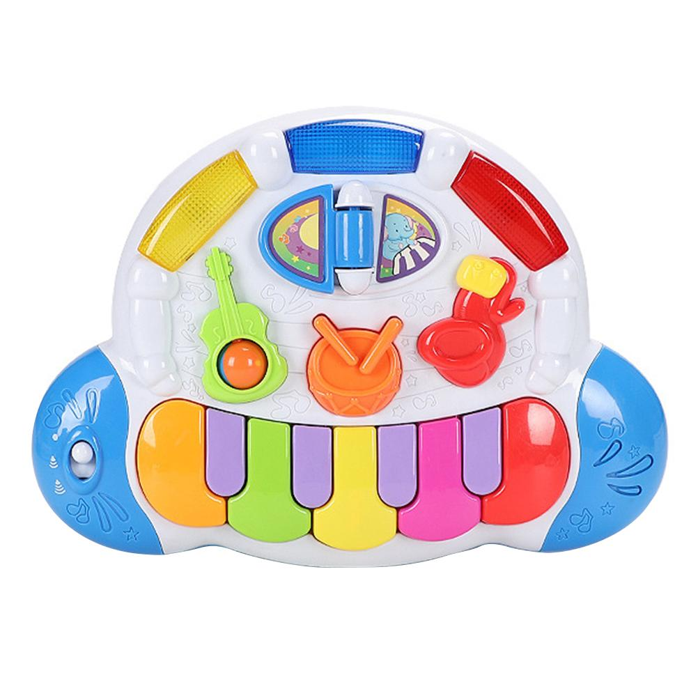 Baby Electrical Piano Toy Baby Musical Instruments Toys Electric Keyboard Game Early Educational Toys Gift for Kids недорого