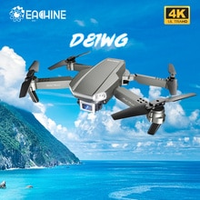 Eachine D81WG Drone GPS 4K HD FPV Camera Quadcopter Aerial Photography Four-Axis Foldable RC Helicop