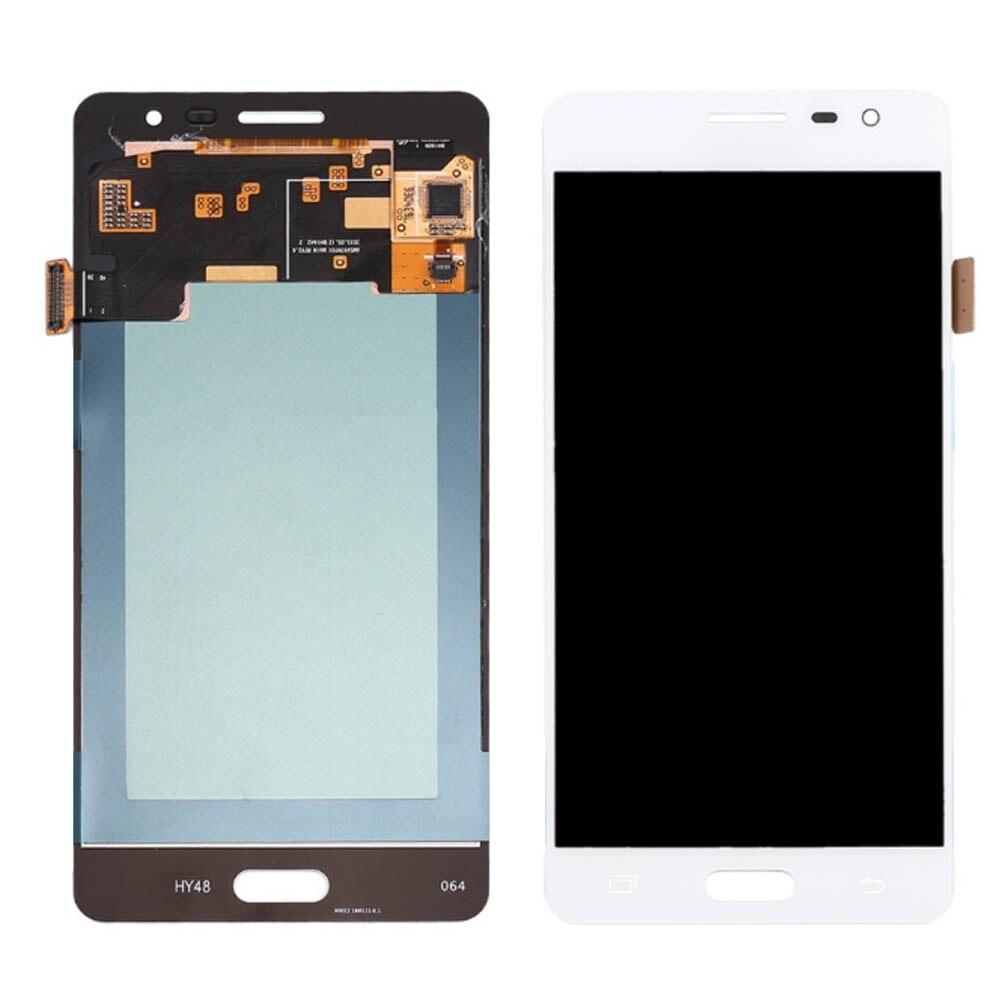 Pantalla lcd J3110 oled para Samsung Galaxy J3110 J3 Pro J3P, pantalla LCD con digitalizador de pantalla táctil, se puede ajustar el brillo
