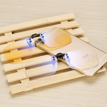 Night Vision Polarized Clip on Sunglasses Eyewear Clip Glasses for Fishing anti blue light clip on g