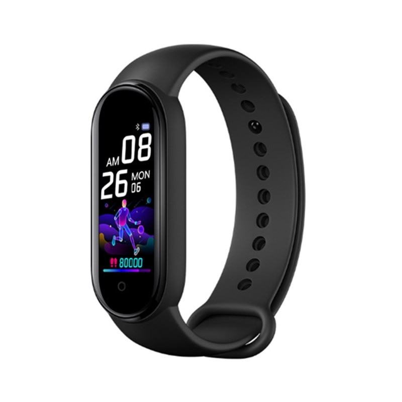 New Smart Sports Bracelet Blood Pressure Heart Rate Sleep Monitor Bluetooth band IP67 Waterproof Color Screen Fitness gift