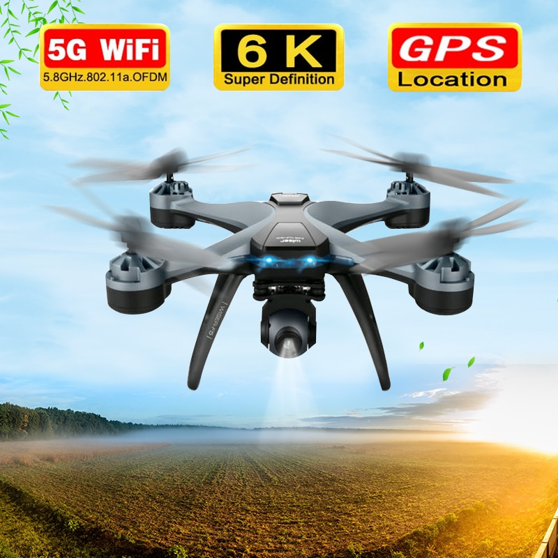 F5 Drone With 6K HD Camera 5G WIFI GPS RC Drone Professional Quadcopter Gesture 2KM Long Time Flying RC Helicopter Gimbal Aerial enlarge