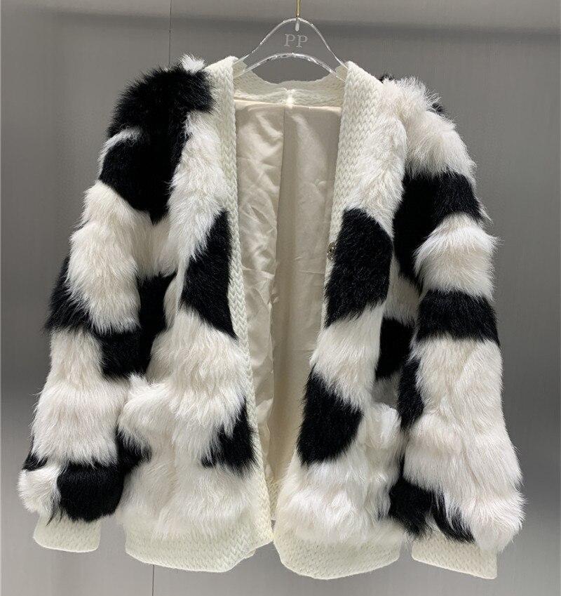 New arrival 2021 autumn and winter women real wool fur coat winter warm coats overcoat