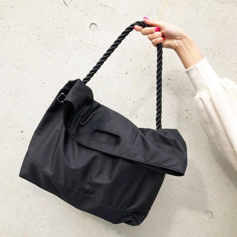 Women Bag Casual Canvas Crossbody Bag Luxury Handbags Women Shoulder Bags Nylon Casual Tote Large Capacity Travel Tote Bolso