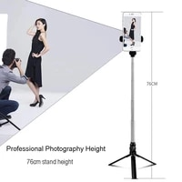selfie stick tripod with bluetooth compatible remote control for huawei iphone smartphone mobile monopod selfie stick