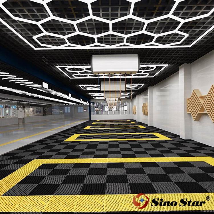 Sino Star-مصباح led سداسي ، تصميم احترافي عالي الجودة ، إضاءة داخلية ، مصباح سقف ، مرآب منزلي/تجاري