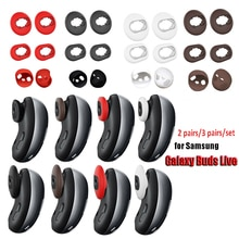 3Pairs/set Silicone Earbud Case Cover Tips Replacement Earplug For Samsung Galaxy Buds Live Headset