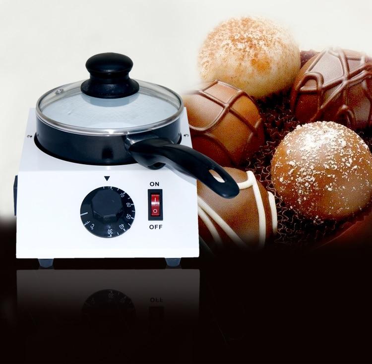40W Mini Electric Chocolate  Melting Machine Pot Ceramic Non-Stick Single Melter Stove Hot Sale