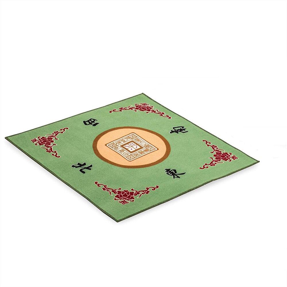 Mahjong obrus stół mata tłumik anti-slip mahjong koc handmade mahjong stół mata tablecloth31x 31 cali