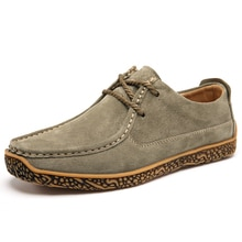 Men Casual Shoes Spring Autumn Breathable Mens Flats Lace-Up Shoes Simple Oxford Soft Bottom Male Sh