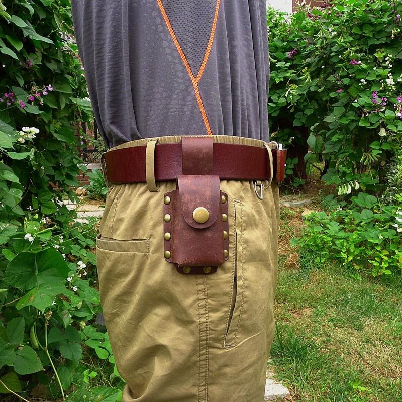 Blongk ремень автомобильный чехол для ключей Кожаный Автомобильный держатель для ключей поясная сумка ручная работа ключи поясная сумка коше...