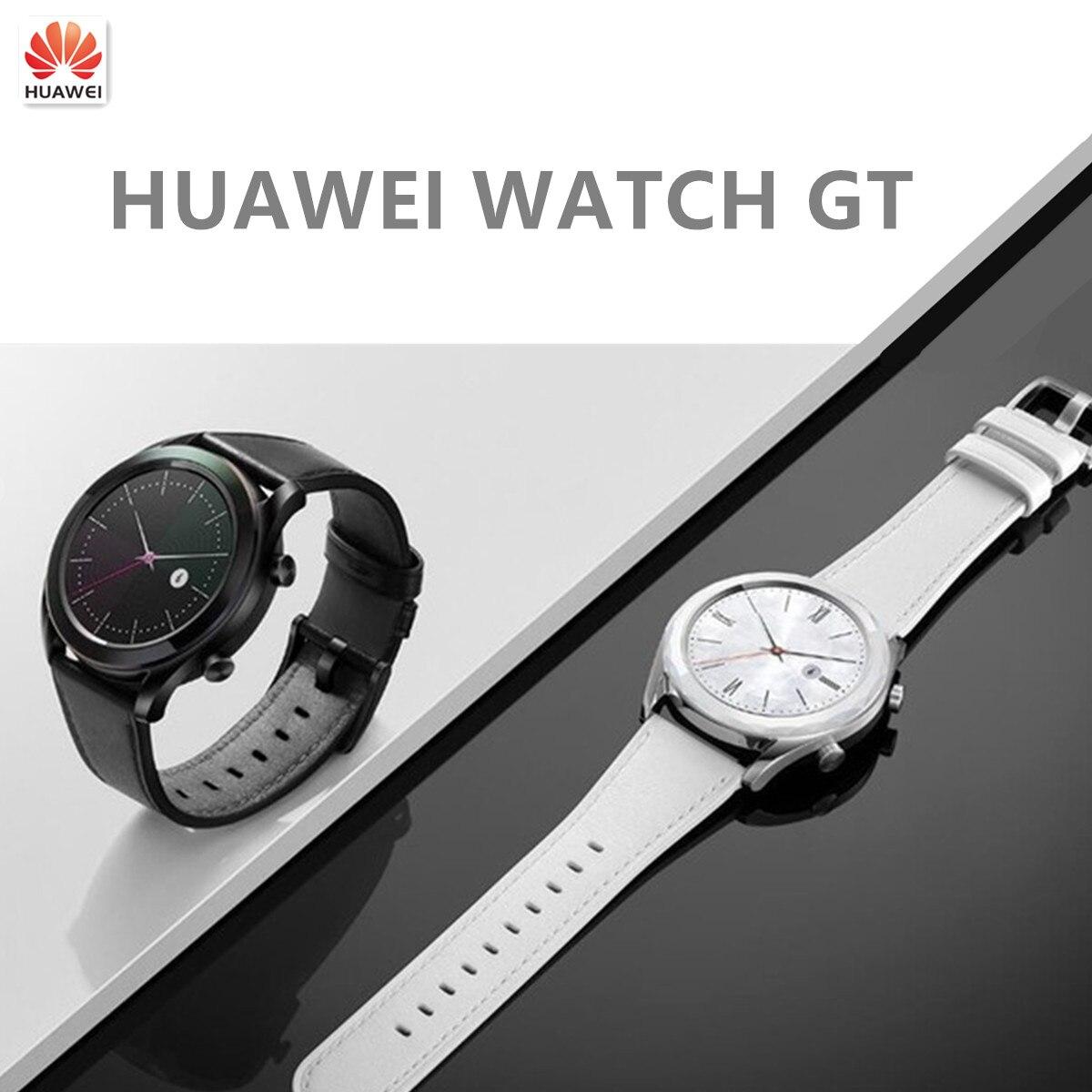 Original 95% NEW HUAWEI Watch GT Smart GPS Sport TrackerWatch Sleep Support Waterproof Heart Rate Tracker  SmartWatch