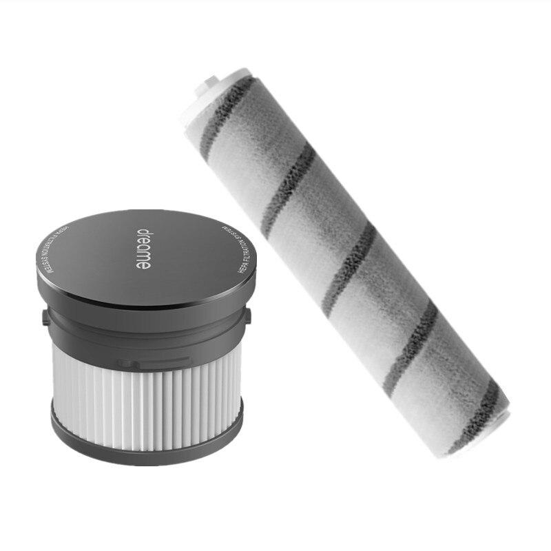 Оригинальный элемент HEPA-фильтра Dreame, роликовая щетка, сменные детали, подходит для V10, V11, V12, ручной пылесос, напольная щетка