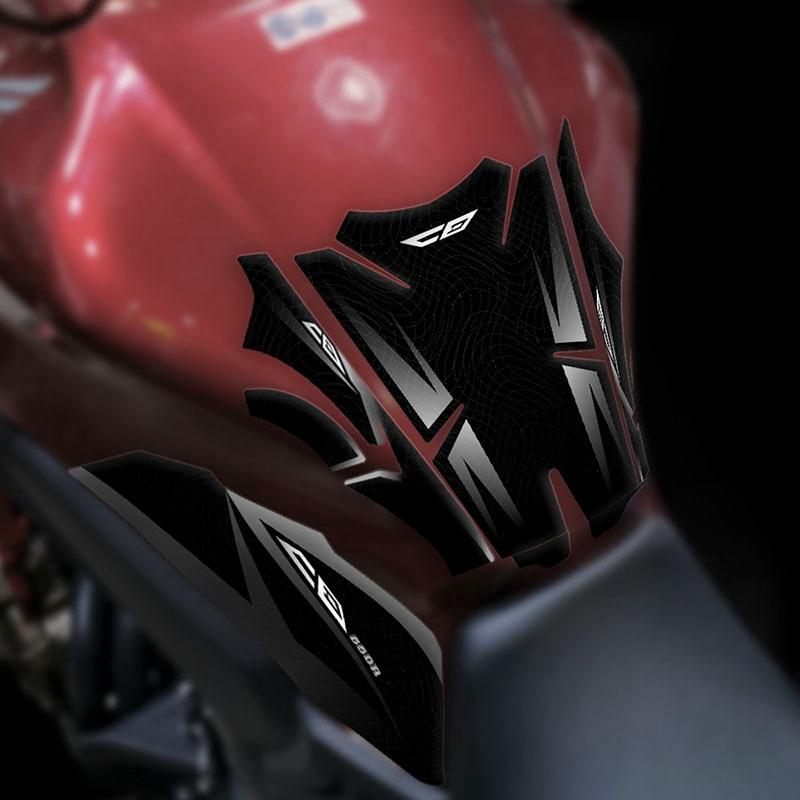Almohadilla de tanque de combustible Kodaskin, pegatinas de tapa de almohadilla de tapón de Gas para motocicleta, accesorios de decoración de tanque para Honda CB650R cb650r cb 650r