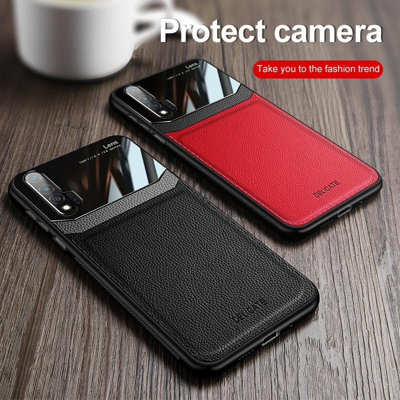 Funda de teléfono para Huawei P40 Lite Nova 7i, funda de piel Retro para Huawei P40 Lite 5G 4G Nova 7i