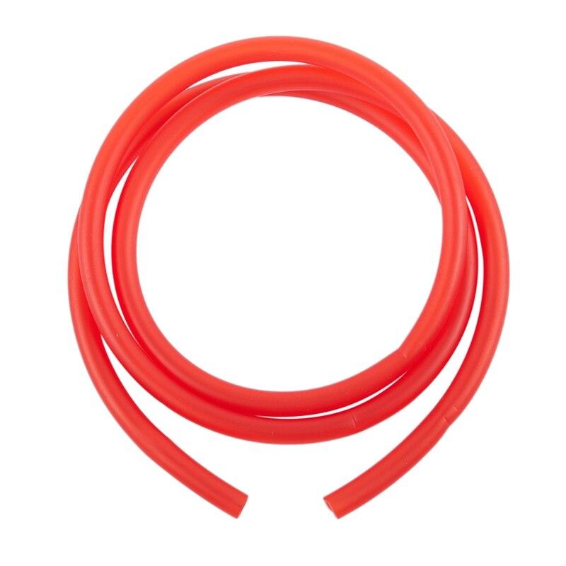 Tubo de goma de combustible de gasolina de 1M tubo rojo Ø 5mm X 8mm