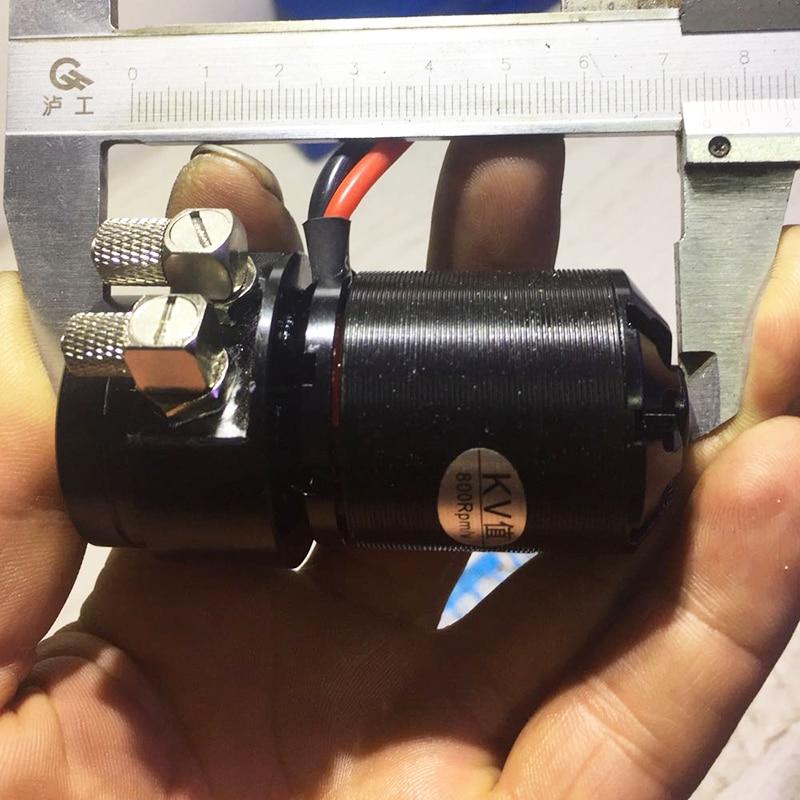Original Factory Brushless Model Oil Pump Excavator Model Accessories Miniature Gear Pump enlarge