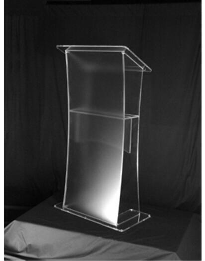 Atril acrílico para mesa, atril acrílico para podio, atril acrílico, soporte para altavoz de plexiglás