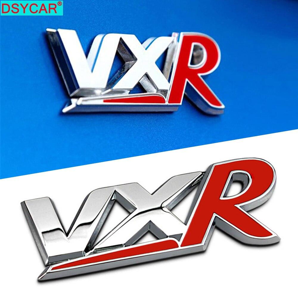 DSYCAR 1Pcs Fashion 3D Metal VXR VAUXHALL Car Side Fender Rear Trunk Emblem Badge Sticker Decals for Buick Hideo GT XT Regal New