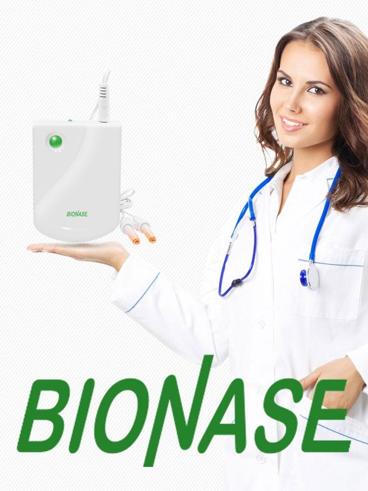 Cuidados de saúde bionase rinite sinusite terapia do nariz massagem cura febre do feno baixa frequência pulso laser massagista therapentic