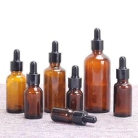 50ml brown drop amber bottle glass aromatherapy liquid dropper essential basic massage oil pipette refillable bottles